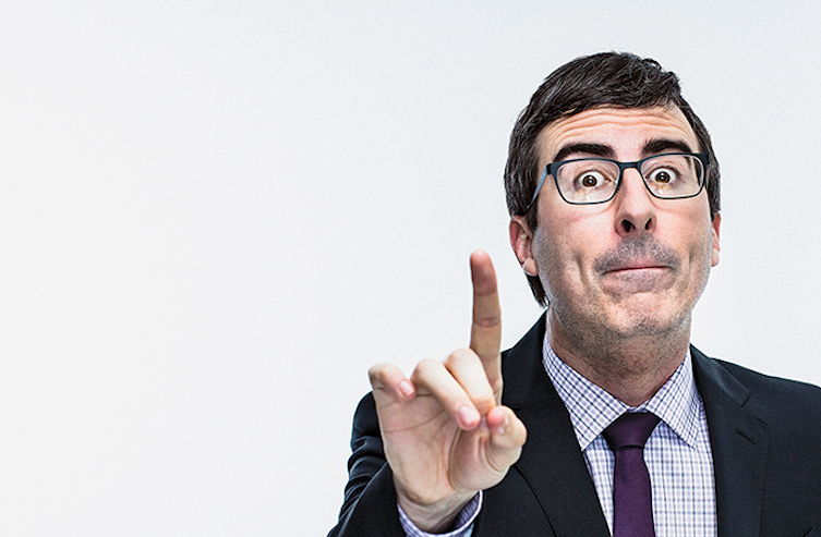 Hire John Oliver, The Best Comedian