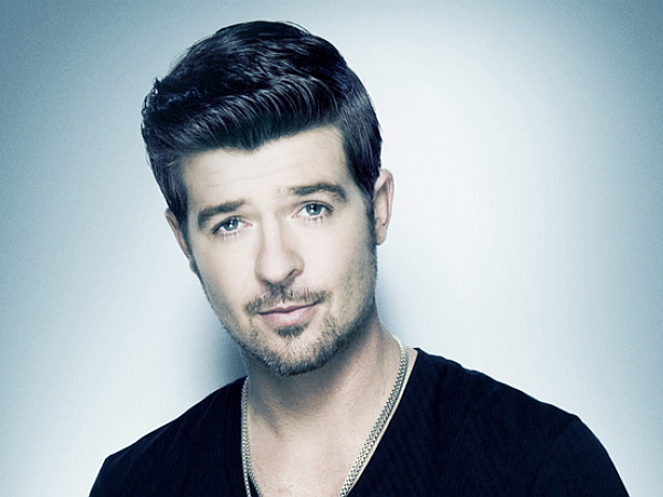 Robin Thicke Booking
