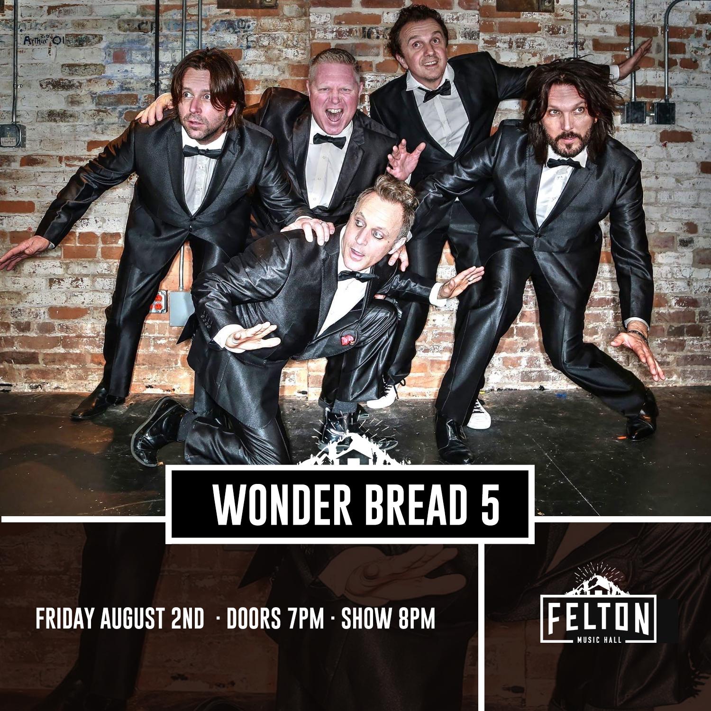 Wonder Bread 5 at Felton Music Hall