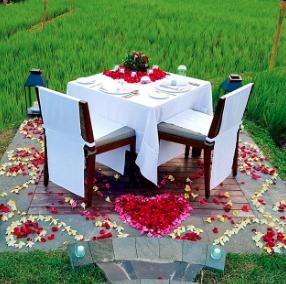 Romantic dinner for two <3