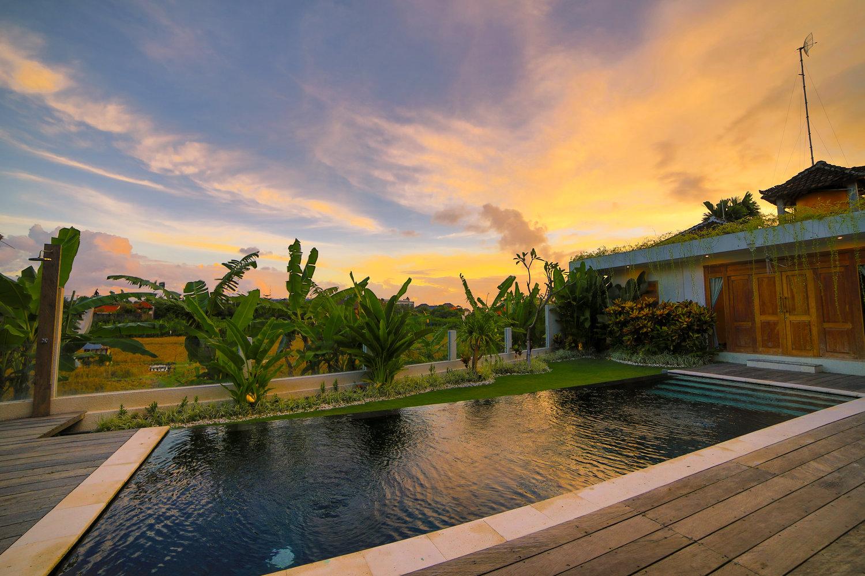 Sunset at Seminyak Bali