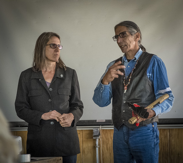 Laura and Benny Fillmore, Washoe Tribal Leaders based in the Tahoe Region