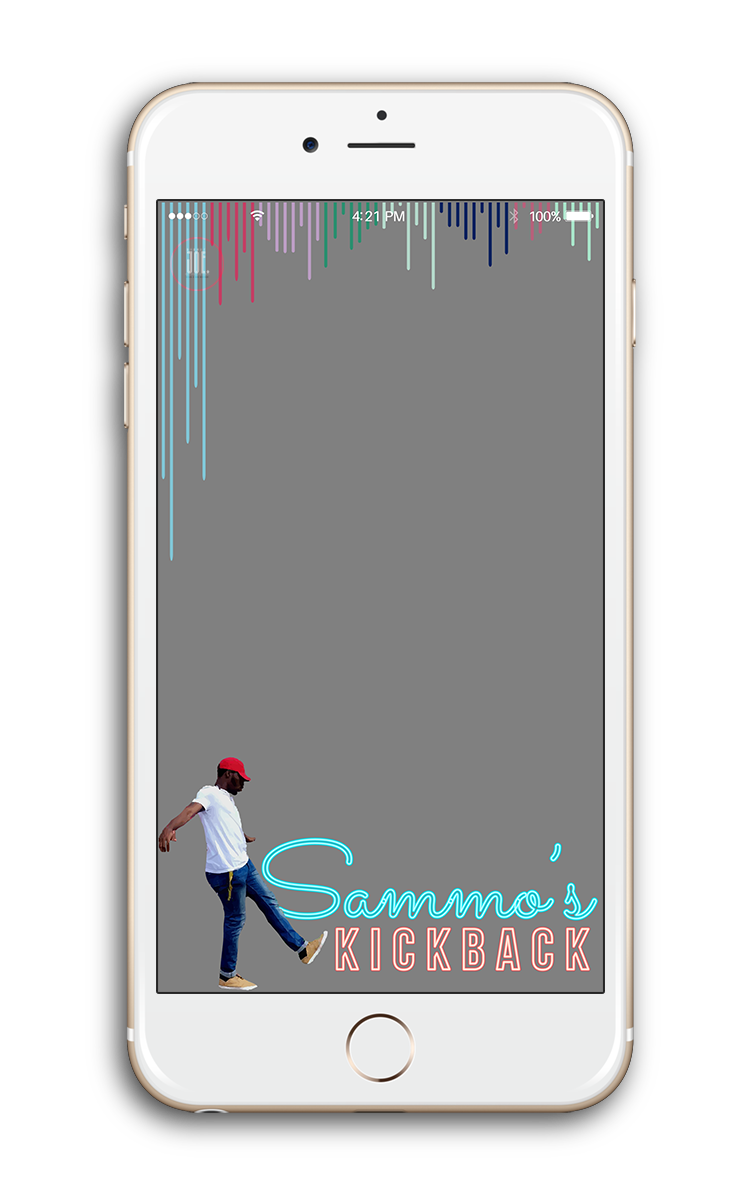 $65 - Text + Image Based DesignFilter design with fully customized text + imagery of you or anyone you may choose.Examples: person, pet, building, wedding couple-------------------------• Free Snapchat Submission• Turnaround Time: 3 - 4 days• 2 Rounds of Revisions+ $15 for each additional round of revisions