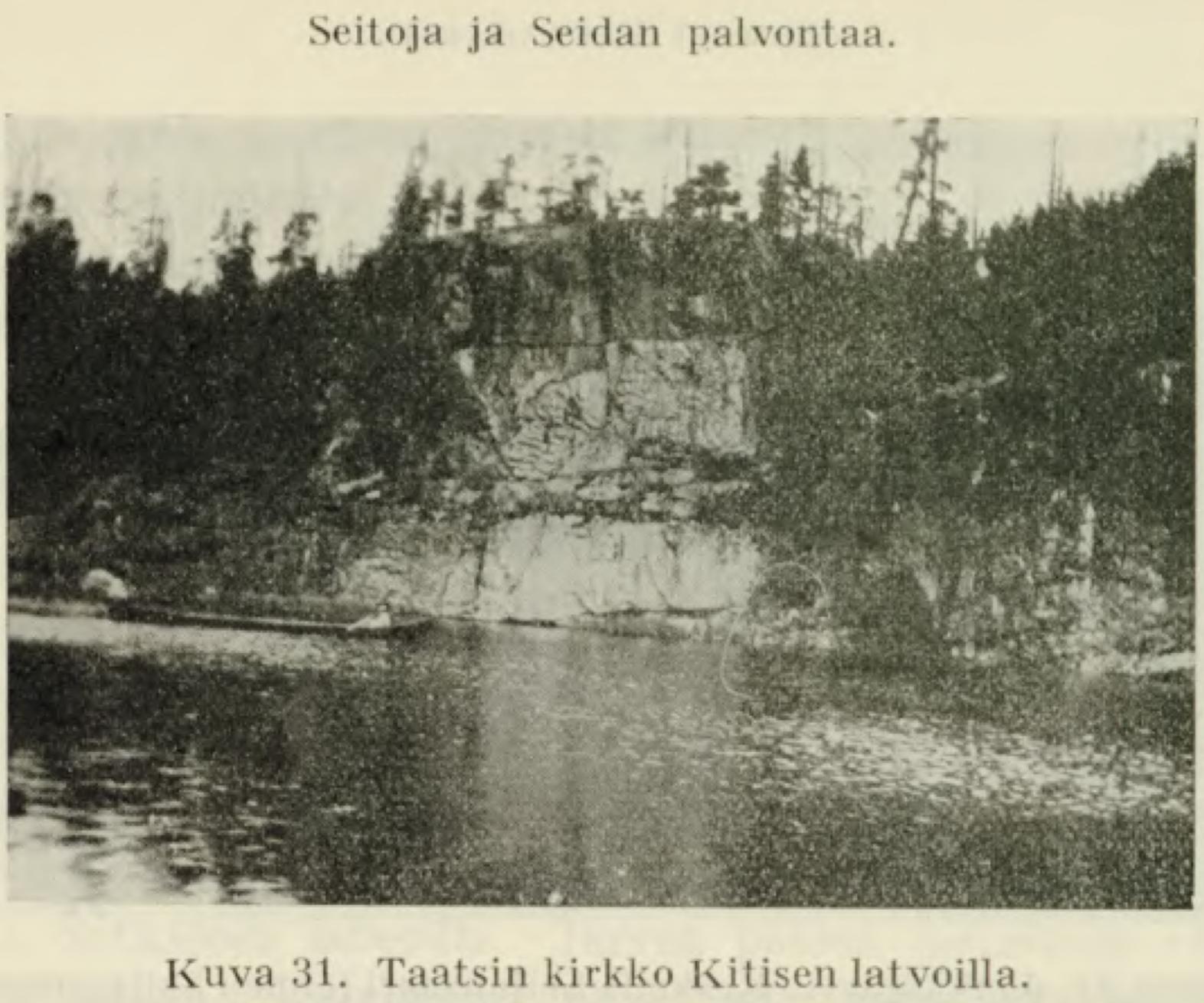 Lähde:  Samuli Paulaharju: Seitoja ja Seidan palvontaa (1932) SKS / Suomalaisen kirjallisuuden seura