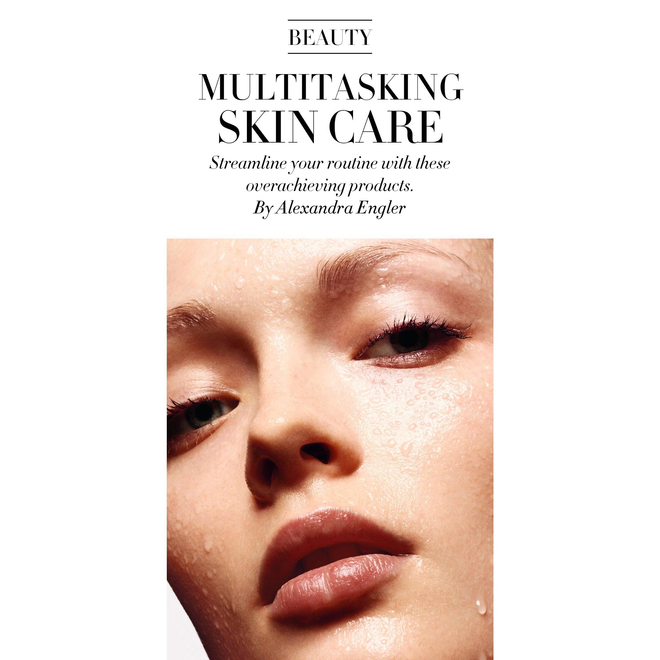 Dr. Hadley King featured in Harper's Bazaar