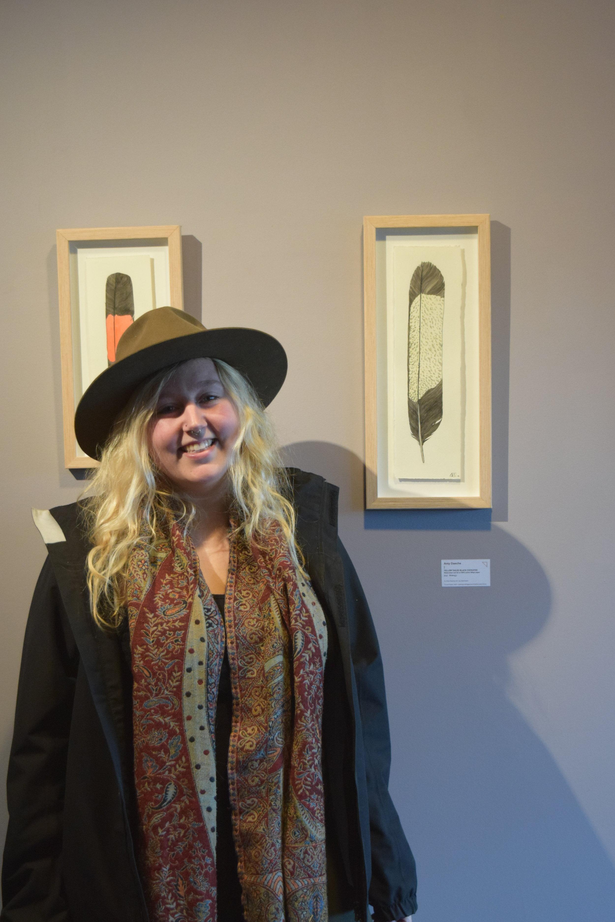 Winner Amy Daeche