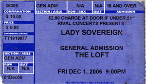 Lady Sovereign 2006