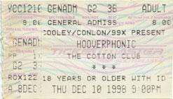 Hooverphonic 1998