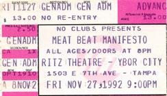 Meat Beat Manifesto 1992