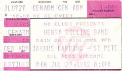 Henry Rollins 1992