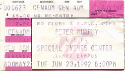 Peter Murphy 1992