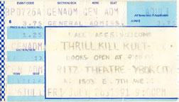 Thrill Kill Kult 1991