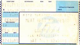 Meat Beat Manifesto 1991