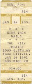 Nine Inch Nails 1991