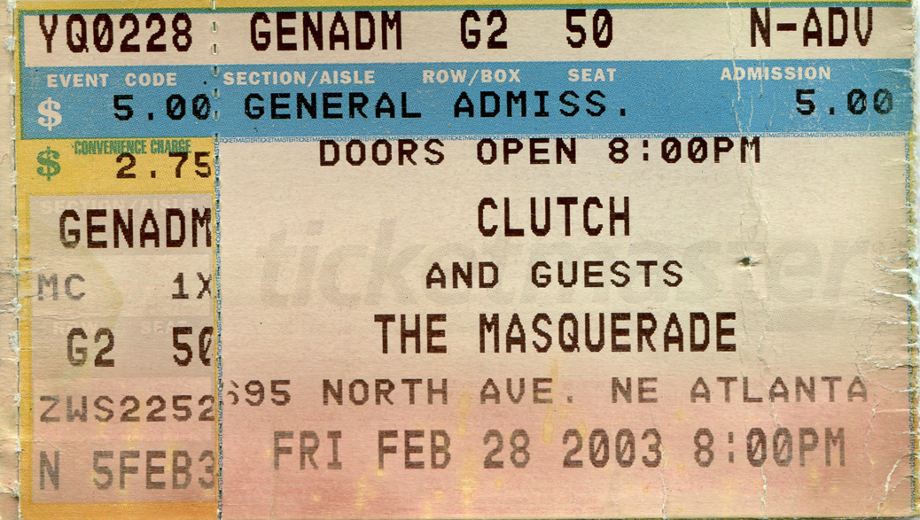 Clutch 2003