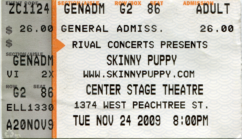 17 Years After My First Skinny Puppy Show