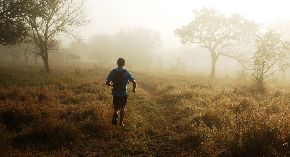 Johannesburg trail run - 8 to 15 kms (5 to 9 miles)