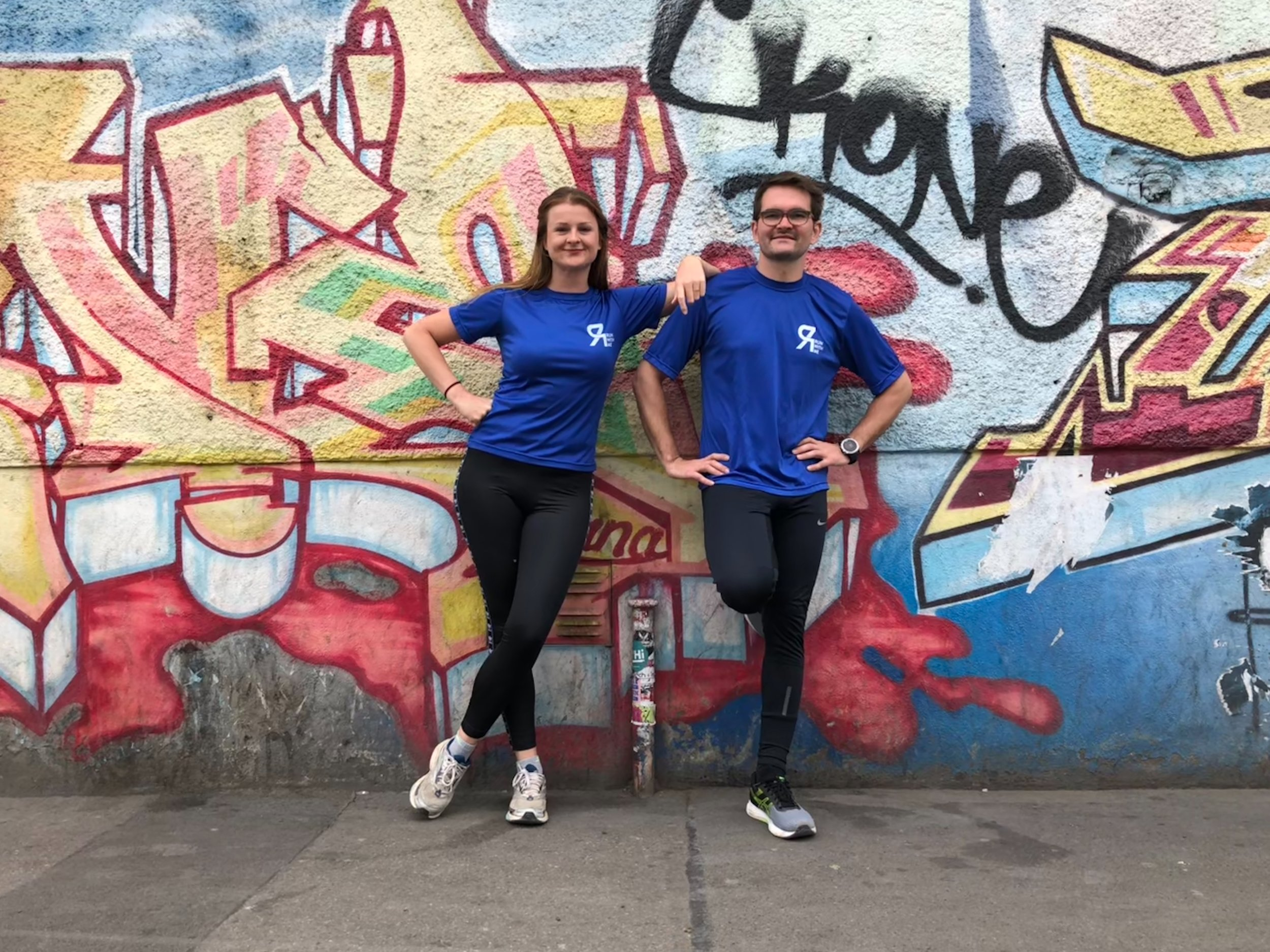 Katharina and Frank will be leading runs in Zurich from May 2018