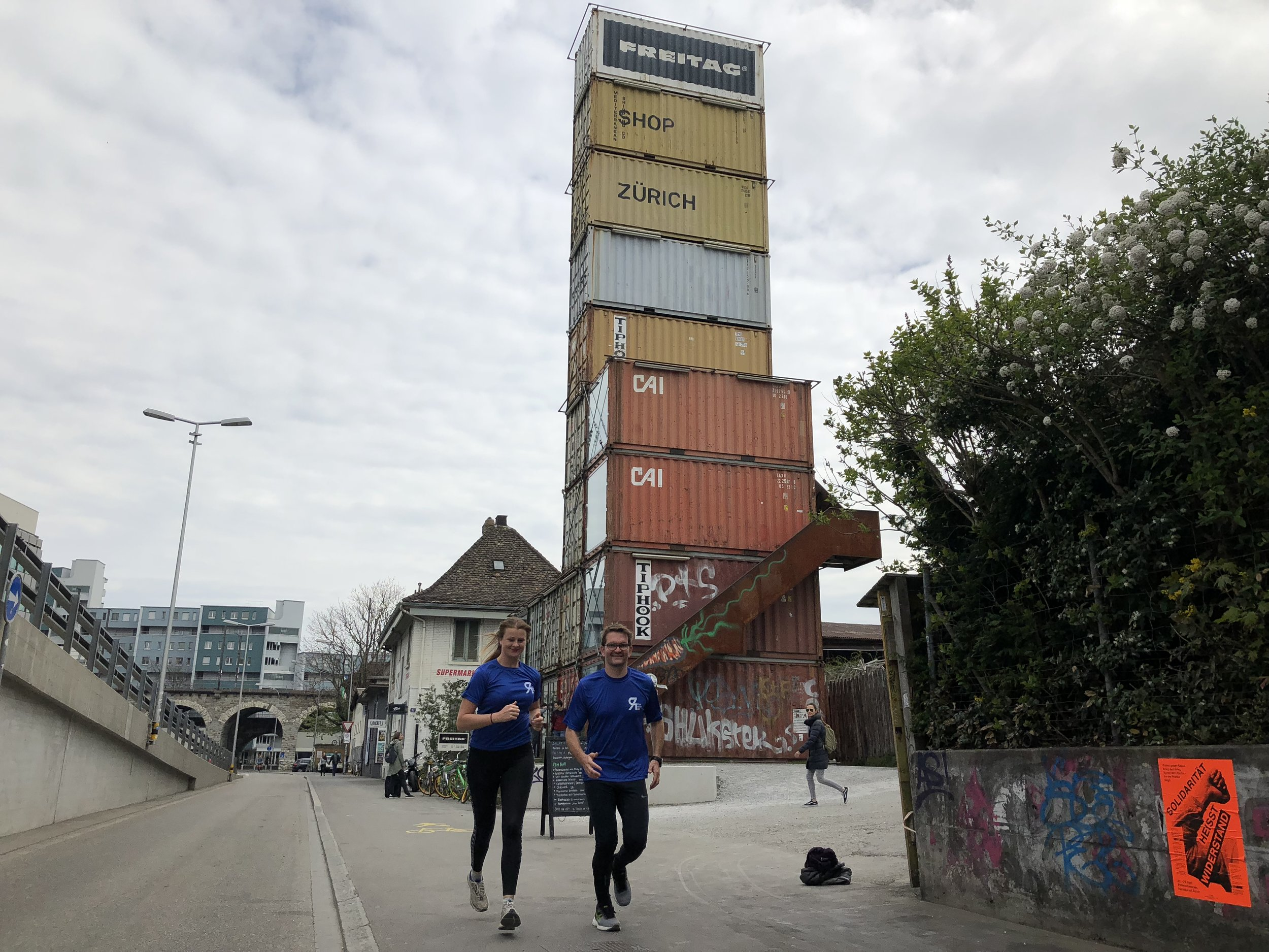 An urban run past our favourite local places and the highlights of Zurich