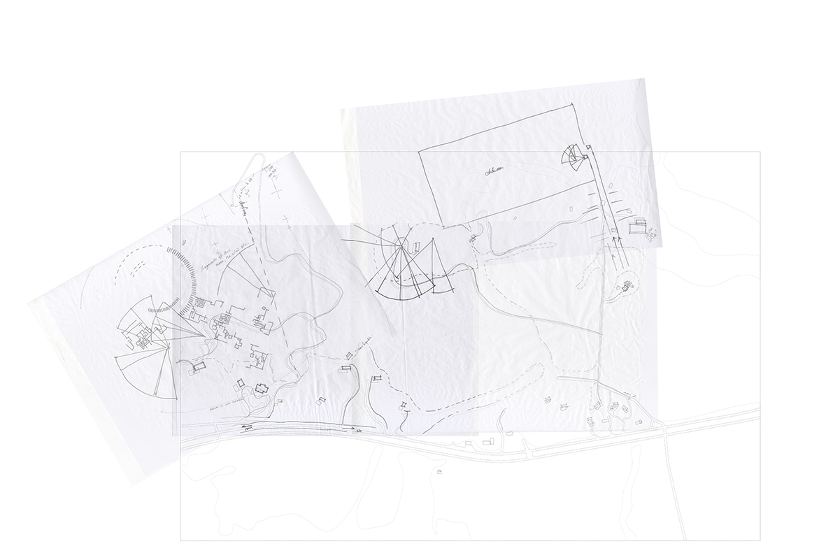 Site Sketch - House of Leaves - Space and Paper