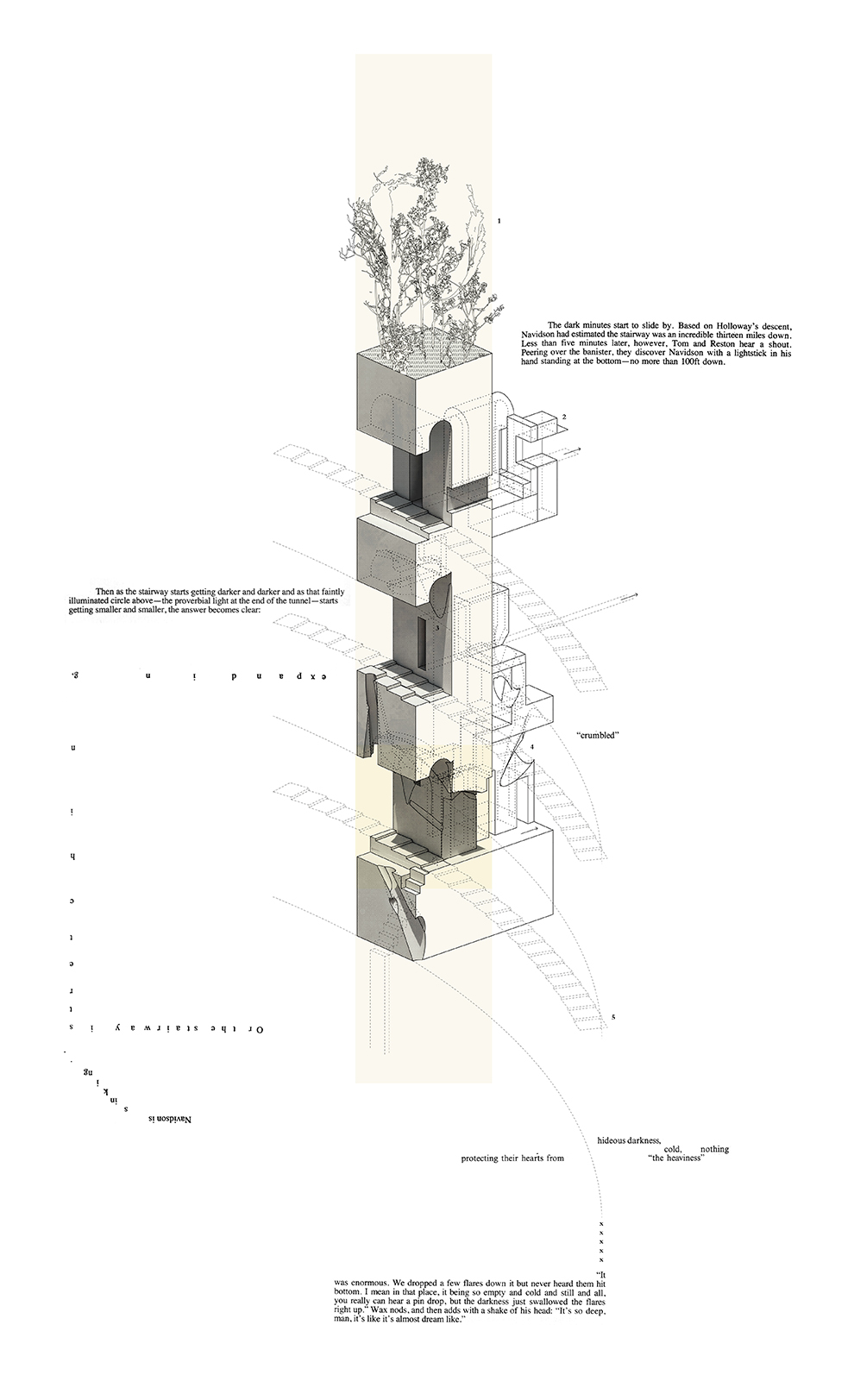 The Grand Stair - House of Leaves - Space and Paper