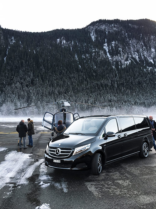 Our Executive Airport Service takes you from your plane or helicopter directly into your car.