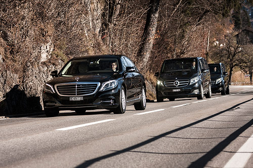 We are experienced with taking royal or UHNWI to different airports in Switzerland.