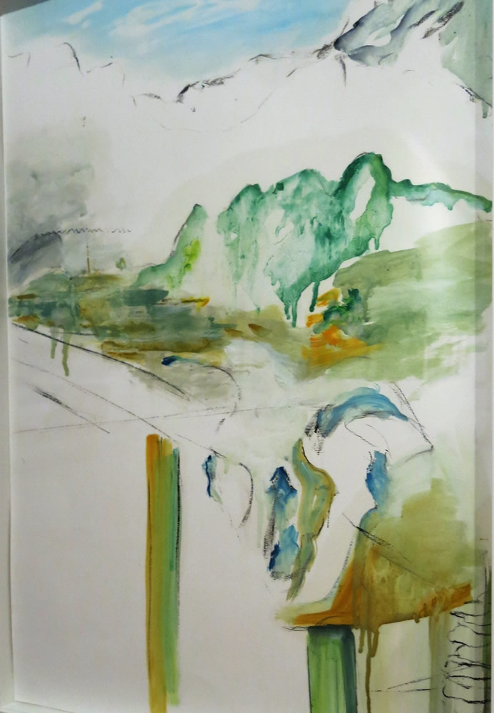 Lesley Woodward Oil Painting