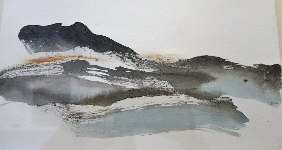 Lesley Woodward Ink Drawing