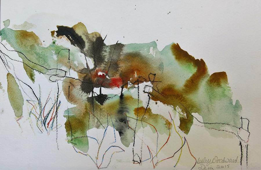 Lesley Woodward Watercolour