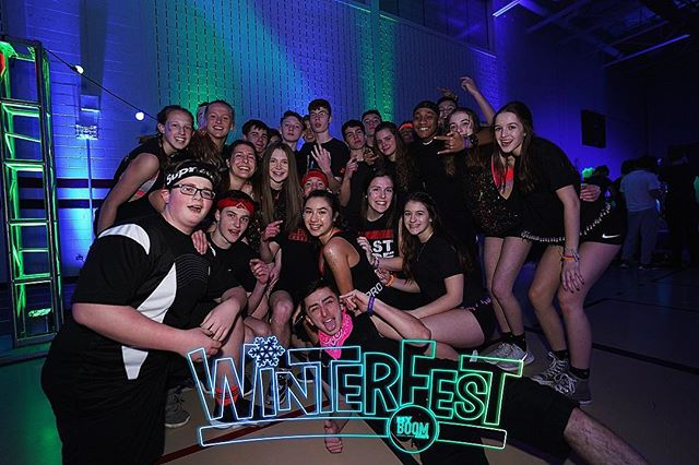 @khswinterfest we are HERE and READY for tonight!! If you didn't grab your ticket during lunch, DON'T WORRY! We'll be selling tickets at the door for $35 so gather your #Winterfest19 fam and get ready to PARTY!💥🤪💥 #WinterFest19 #UMPL #myBOOMtour #HighSchool #MusicFestival #ChangingHighSchoolDancesForever