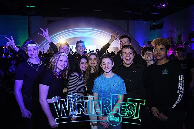 This past weekend was 🔥 Does anyone wants us to post the pictures‽ 🥶💥 #WinterFest19 #UMPL #myBOOMtour #HighSchool #MusicFestival #ChangingHighSchoolDancesForever