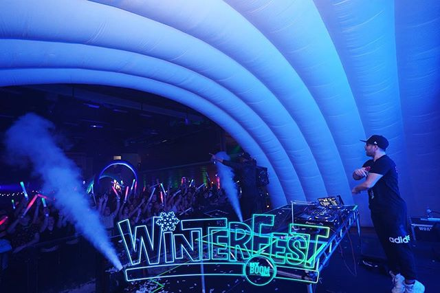ARE YOU READY? 🥶💥🥶 Tonight we are wrapping up the 2019 tour at @mhswinterfest 🔥🔥🔥🔥 Tickets are STILL available at the door! ❄️💙❄️ #WinterFest19 #UMPL #myBOOMtour #HighSchool #MusicFestival #ChangingHighSchoolDancesForever