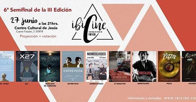 Muy contentos de ser seleccionados en @festivalibicine !!! Nuestro décima selección oficial 🏄♀️ 🤙🏽We are so excited to be selected at the IBICINE film festival in Ibiza!! This is our 10th official selection in a film festival 🏄♀️🤙🏽