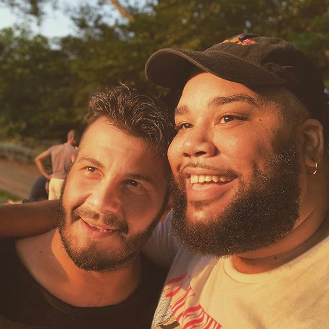 Ion & Nick #extraroomtheshow #extraroom 📸 @nilangrams