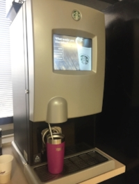 We got a Starbucks coffee machine installed in our lounge and my coffee consumption increased by ~250%...