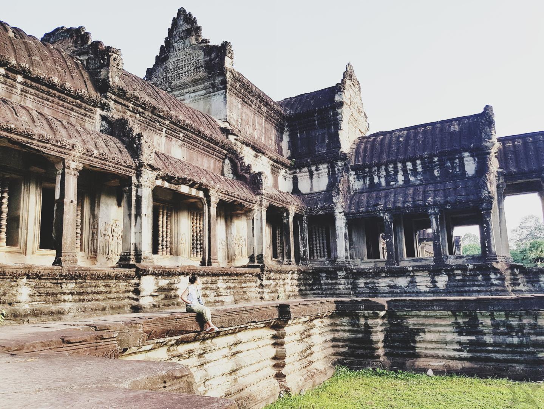 Angkor Wat Complex Siem Reap Cambodia