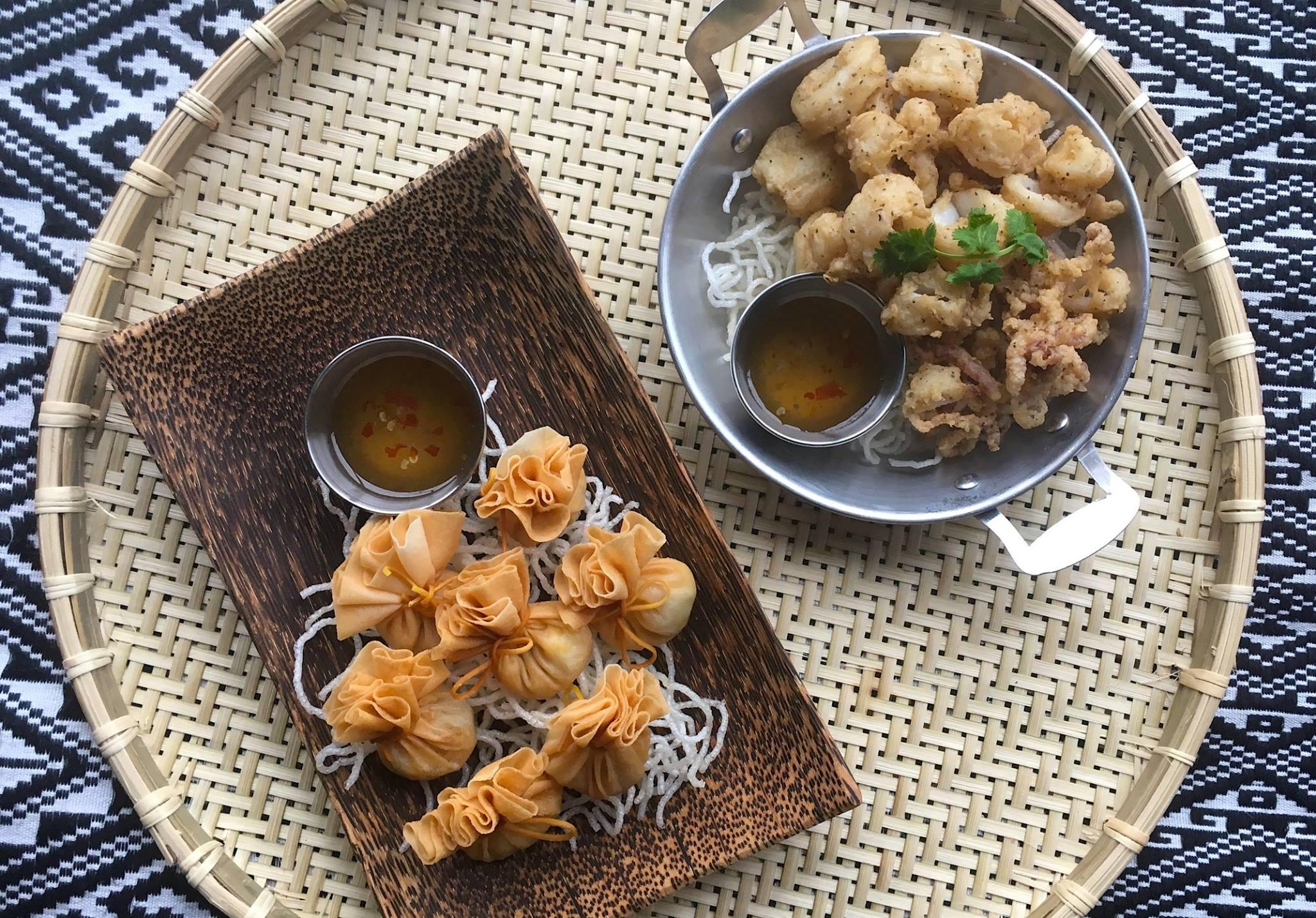 Golden Bags & Calamari
