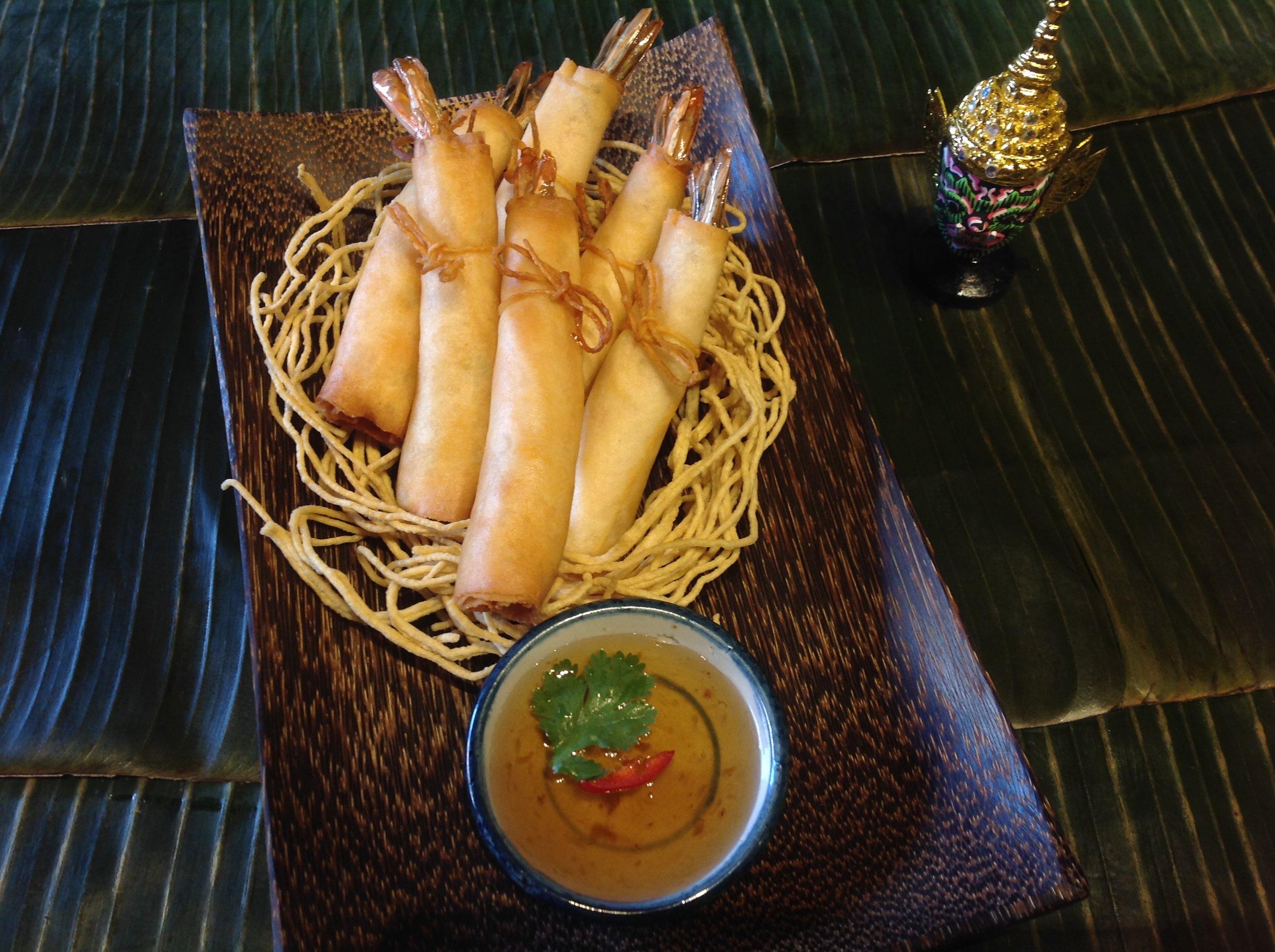 Shrimp Rolls (5)