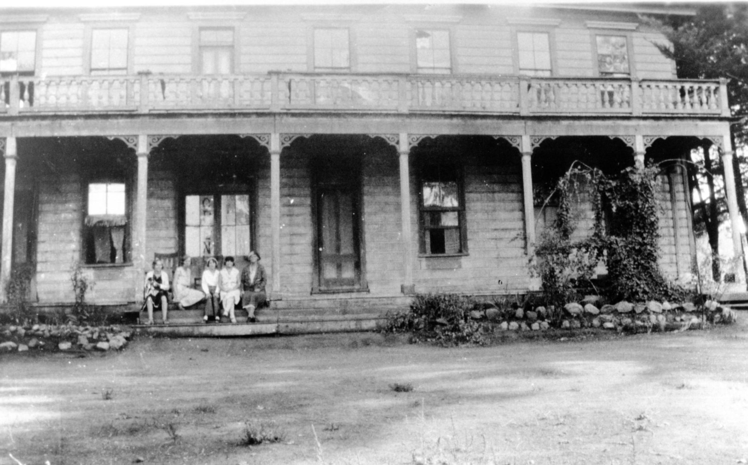 The hotel, circa 1930s