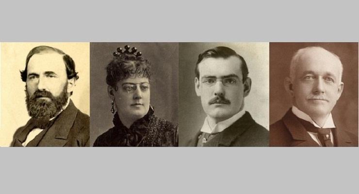 Collis, Arabella, Archer and Henry Huntington