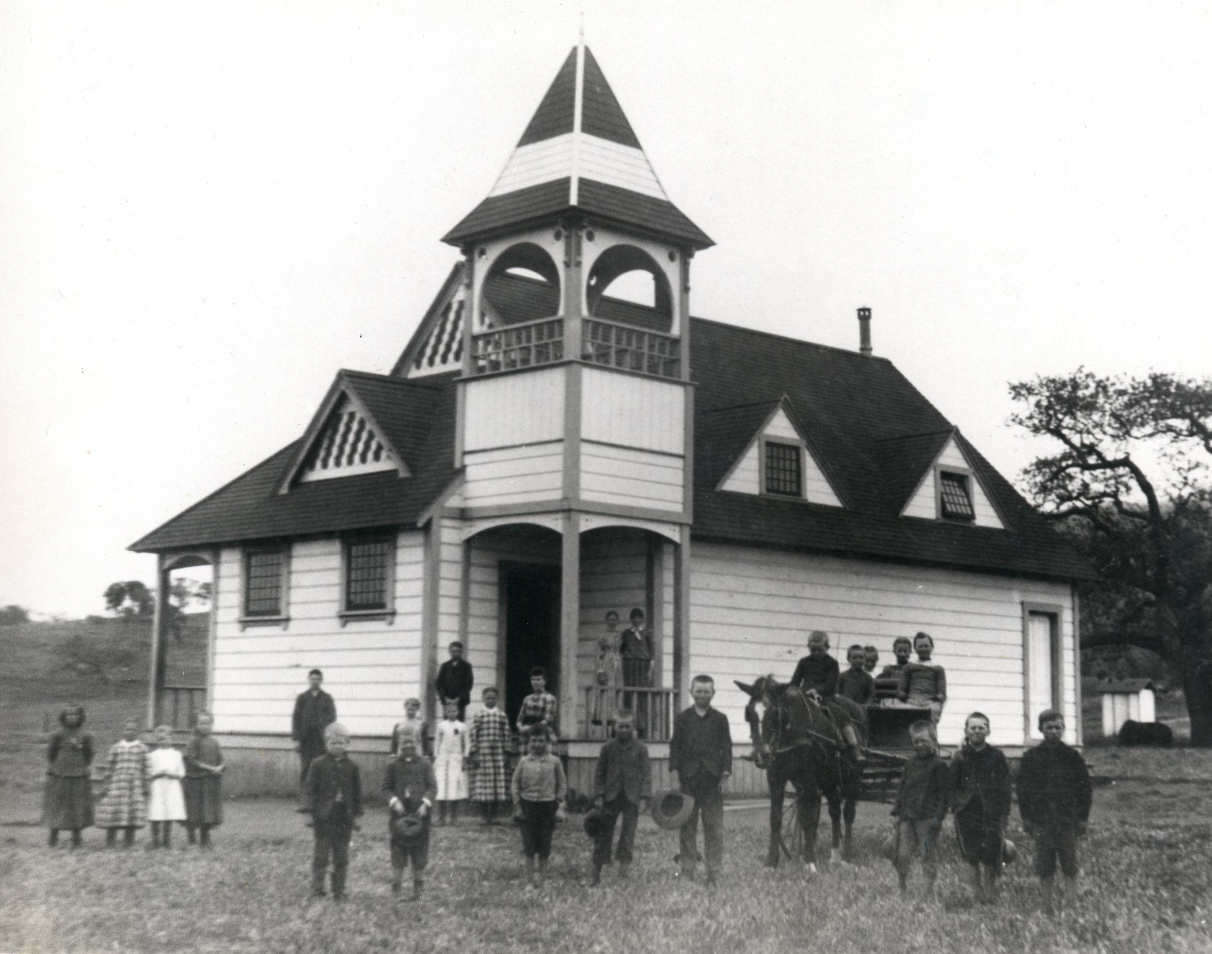 Timber School, 1890s
