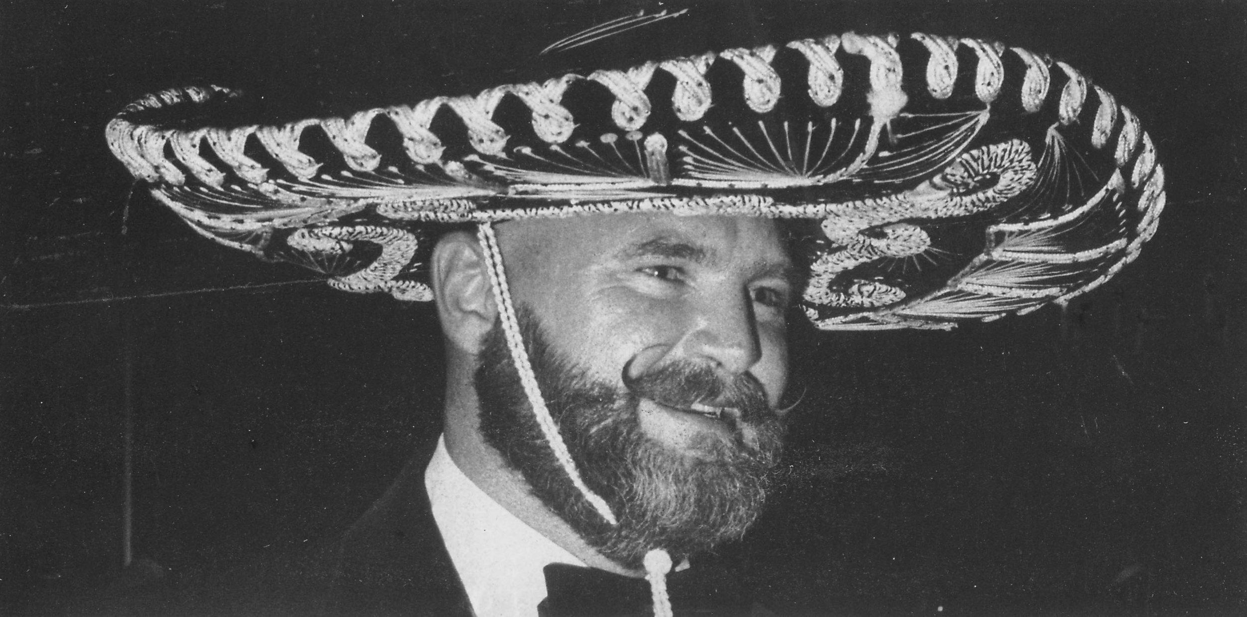 Don Triunfo Dick Elliott at the Triunfo Ball, 1977