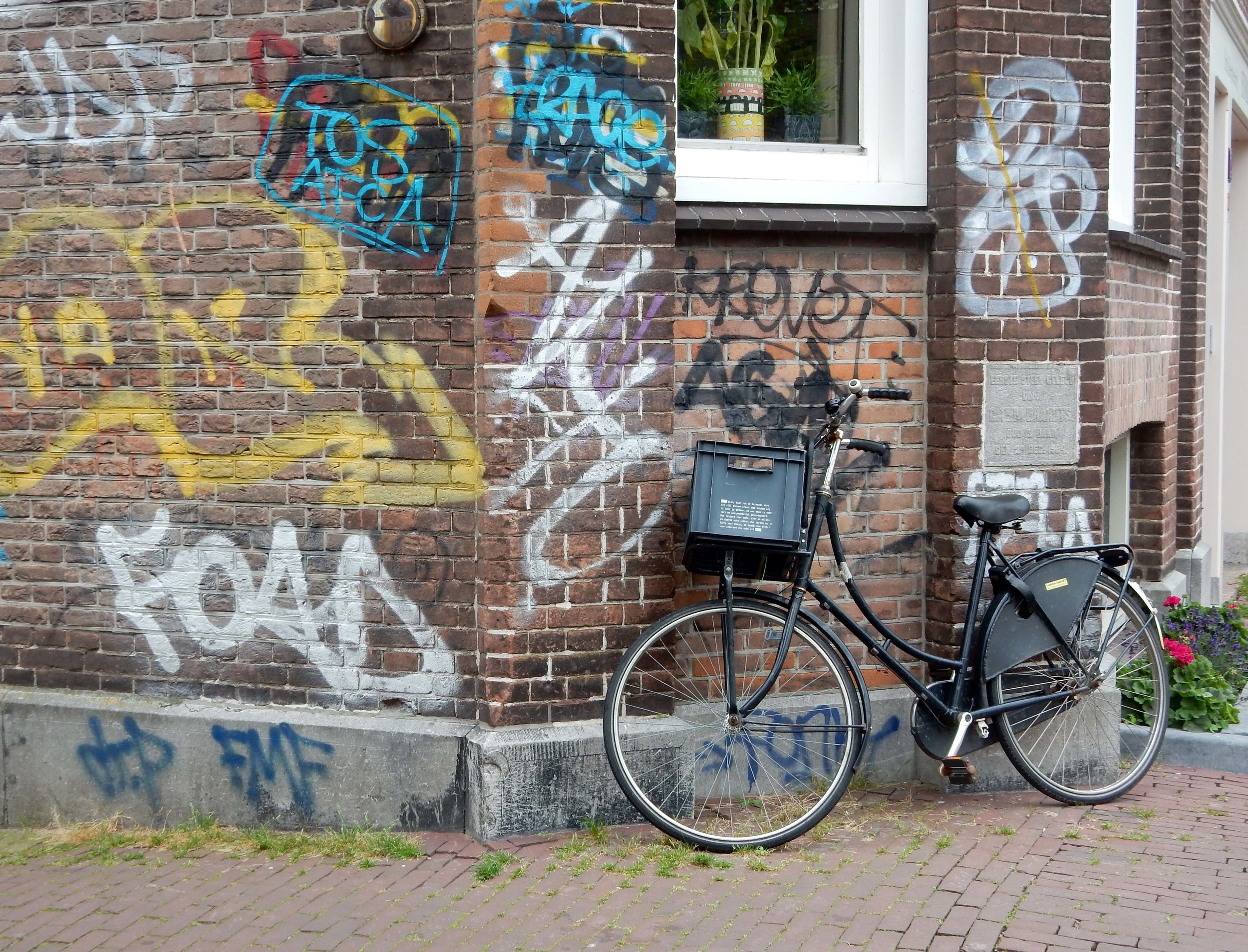Graffitti Amsterdam Style