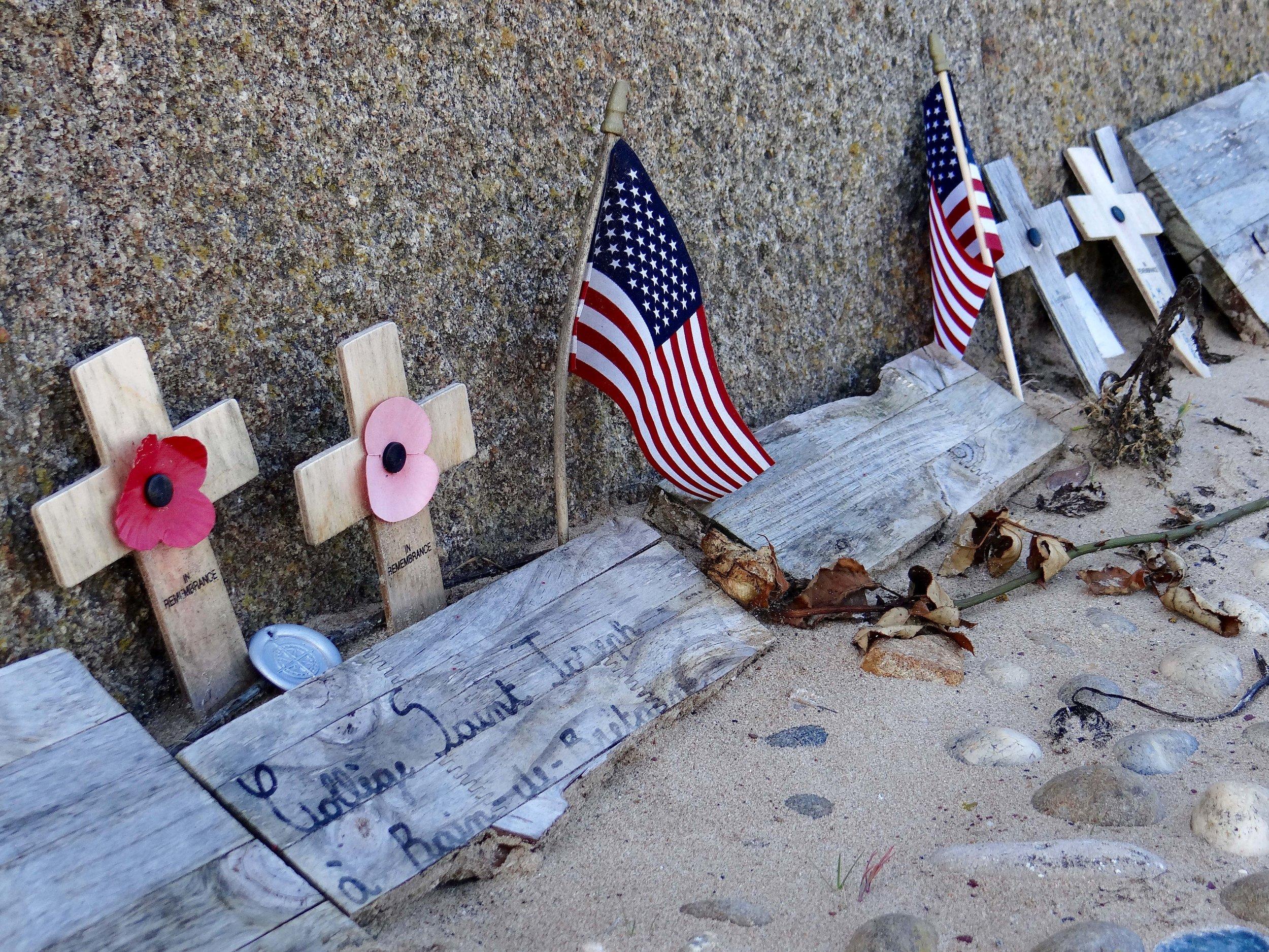 Memorial Omaha Beach, Normandy, France