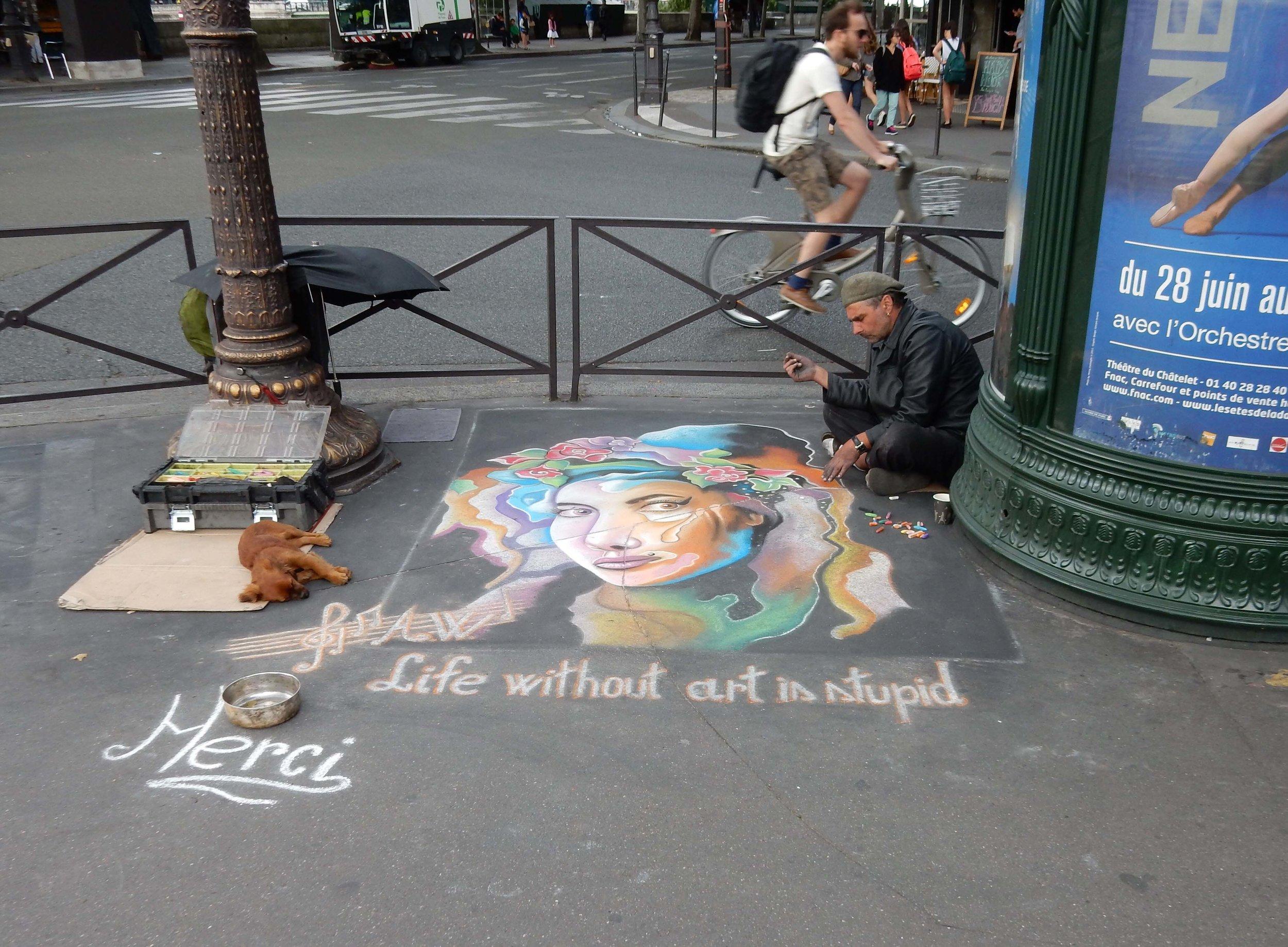 Life Without Art photograph Paris, France 2016