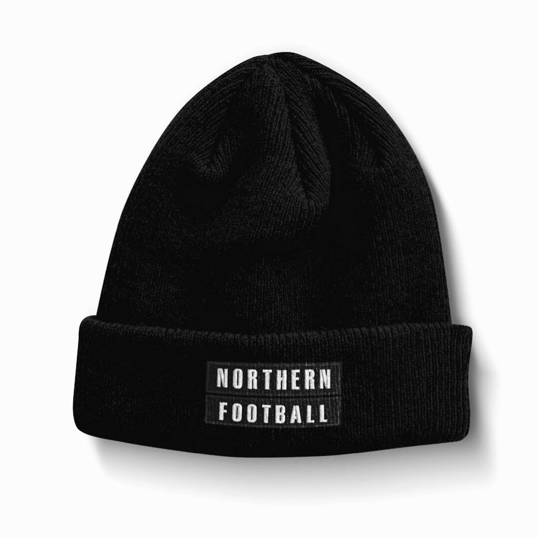 Northern Football Blackout Embroidered Beanie