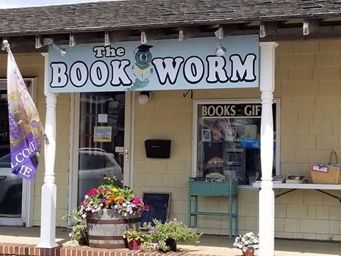 Bookworm Bookstore in Surf City, Long Beach Island, New Jersey. Super cute store with an excellent selection.