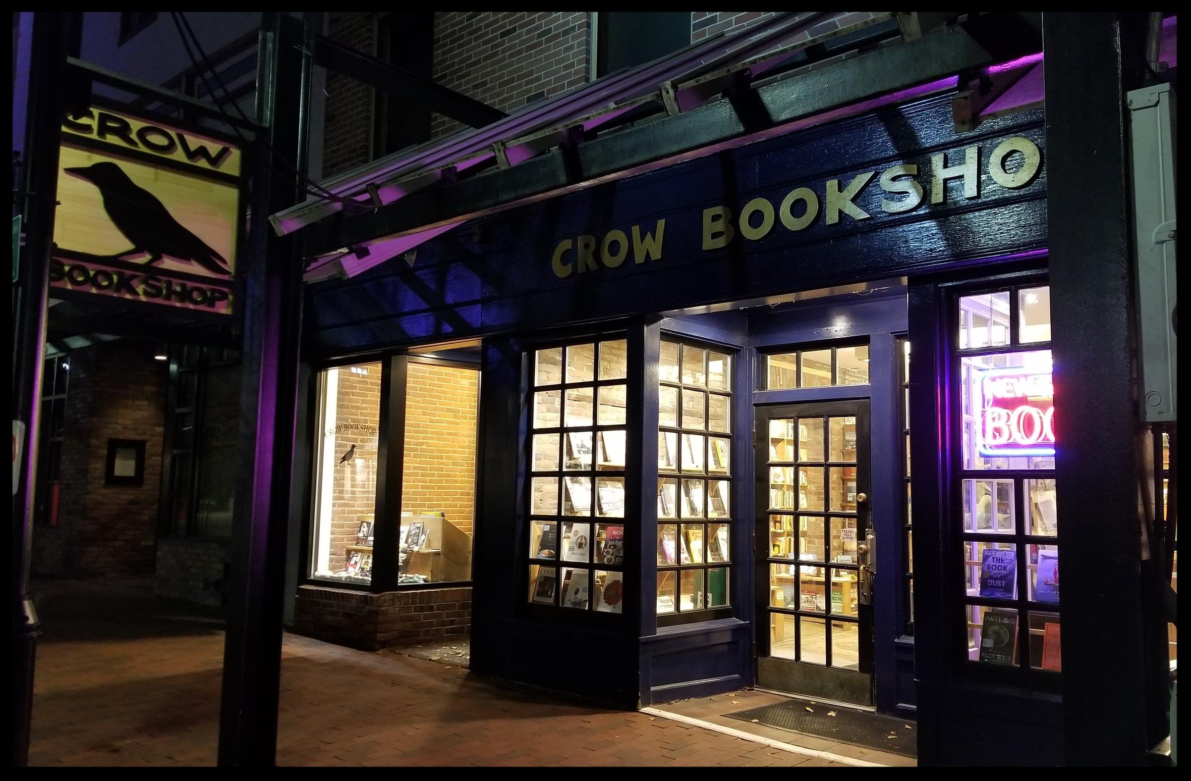 Crow Bookshop  in Burlington, VT