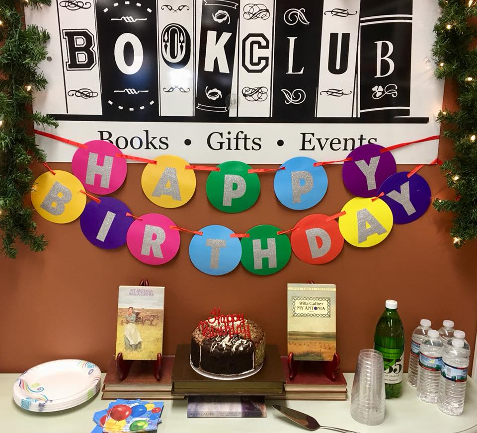 Willa Cather's Birthday Party at  BookClub Bookstore & More  in South Windsor, CT